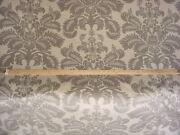 16y Gp And J Baker Bp10496 Marchmont Silver Damask Floral Velvet Upholstery Fabric