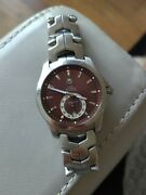 Tag Heuer Menand039s Link Calibre 6 Automatic Watch Wjf211c