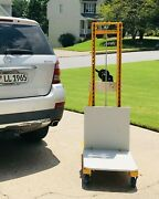 400 Lb Cap 116.2 Lift Height Standard Base Hand Winch Manually Operated Lift