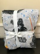 Pottery Barn Kids Flannel Darth Vader Twin Flat And Fitted Sheet Photoshoot Sample