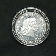 1981 World Wide Mint 1 Oz .999 Fine Silver American Eagle Round Free Shipping