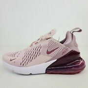 Nike Air Max 270 Barely Rose Vintage Wine Ah6789-601 New Womenand039s Shoes No Lid