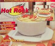 As Seen On Tv Hot Rock Microwaveable -hot Plate