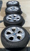 """4 Factory Bmw X5 Oem 19"""" Wheels And Winter Tires"""