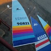 Hobie 16 2 Main Sails And 1 Jib Used Pick Up Only