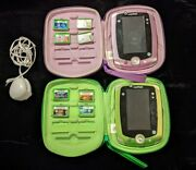 Leapfrog Leappad 2 Explorer Learning Bundle Green And Purple Editions 8 Games Nice