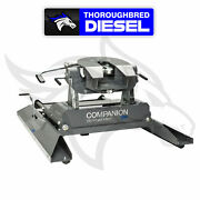 Bandw Companion Slider 5th Wheel Hitch 20k Lb Gtw For Use With Gooseneck Hitch