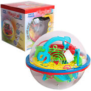 Labyrinth Maze Puzzle Ball 3d Intellect Magic Toys Games Brain Teaser Gift Kid