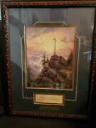 Thomas Kinkade Sunrise Print Accent Prints Collection Matted Certified