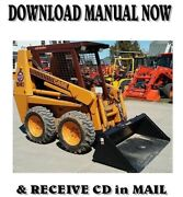 Case 1840 Skid Steer Loader Parts Manual And Shop Service Repair Manuals On One Cd