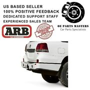 Arb Rear Bumper Without Tire Carrier Fits 07-15 Toyota Land Cruiser Lc200