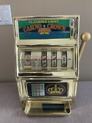 Vintage Waco Casino Crown Novelty Slot Machine 25 Cent Coin. Works Well.