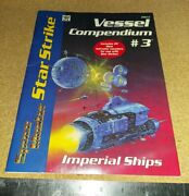 Space Master Star Strike Vessel Compendium 3 Imperial Ships 9013 Unpunched Ships