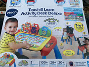 Vtech Touch And Learn Activity Desk Deluxe New Open Box