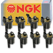 8 Pcs Ngk Ignition Coil For 2016 Cadillac Cts 6.2l V8 - Spark Plug Tune Up Wn