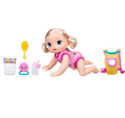 Baby Alive C2688f01 Baby Go Bye Bye Blonde Hair Doll Includes Baby Doll Carrier