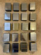 Lot Of 500 Used Top Loaders Holders Regular No Tape No Writing No Price Tags