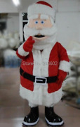 Santa Claus Cartoon Mascot Costumes Cosplay Fancy Dress Carnival Party Outfits