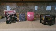 Resident Evil 4 Game Cube Lot. Re4 Gc Pe Brand New. Chainsaw Controller Bn ++