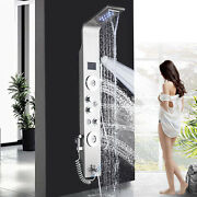 Oil Rubbed Bronze Bathroom Rainfall Shower Head Faucet Set Andhand Spray Mixer Tap