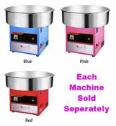 Large Commercial Grade Cotton Candy Floss Maker Machine Party Quality Easy Safe