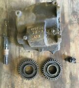 Gm 590695 1935 36 Chevrolet Chevy Master Transmission Case And Parts Vintage