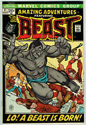 Amazing Adventures 11 Fn/vf/7.0 - Nice Copy Of 1st Mutated Beast