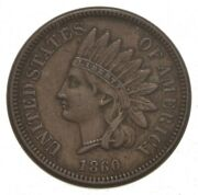1860 Indian Head Cent - Pointed Bust 9218