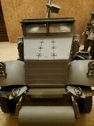 12 Inch Wwii Army Scout Car With 7 Action Figures
