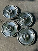 1964 Chevy Impala Chevelle Ss Hubcaps 4