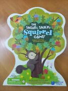 The Sneaky, Snacky Squirrel Game, Preschool And Toddler Board Game For Age 3-5
