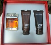 Mont Blanc Homme Exceptionnel Gift Set 2011 Vintage Discontinued - New Unopened