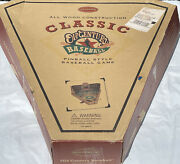 Classic Old Century Baseball All Wood Construction Pinball Style Game 24andrdquox 24andrdquo