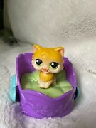 Rare First Generation Cat Littlest Pet Shop Included With Playset