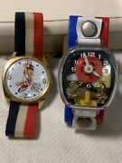 Vintage Collectible Big Boy Swiss Made Watch And 1960 Teeter Totter Watch Lot