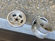 4 Set Vintage Shelby Cal 500 Slot Mag Wheel 14x7 14andrdquox9andrdquo Ford