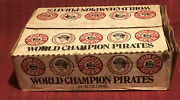 Rare 24 Can Case 1979 Pittsburgh Pirates World Champions Open Beer Cans Baseball