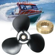 10 5/8 X 12 Aluminum Outboard Propeller For Mercury Engine 25-70hp 48-73134a40