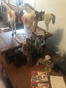 Vintage 1973 Lone Ranger Tonto Silver Scout Set W/extras But Missing Few Items