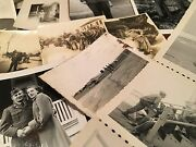 Vtg Huge Lot Real Photo Wwii Korea Military Soldiers Camps Sweethearts More