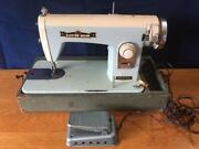 Vintage Brother Electro Grande Sewing Machine.powers On, Nice Condition