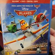 Planes☆ Blu-ray/dvd 2013 2-disc Set `from Above The World Of Cars' Disney Planes