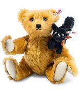 Steiff Fright Night Friends With Scary Cat 30 Cm Ean 683220 Limited Addition