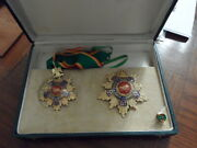 1954 Egypt Military Order Of The Republic Grand Cross Set In Case Badge Medal