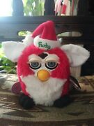 Working 1998 Tiger Original Christmas Limited Edition Furby 149860 Of 500000