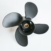 Boat Aluminum Outboard Propeller 10.6 X12 For Mercury25-70hp 4blade 48-8m8026625