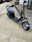 Western Pacific Double Seat 2000w 60v Wide Fat Tire Kick Electric Scooter -...