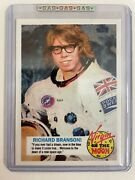 2021 G.a.s. Richard Branson Rookie Card Ntwrk Exclusive Gas Only 437 Sold Out