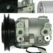 New A/c Compressor+drier For Kubota Tractor M108s M5040 M7040 M8540 M9540 Us