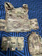 Eagle Ind Multicam Ultra Low Vis Ulv Plate Carrier Sof Med Pouch Lbt Tyr Crye